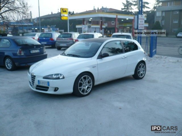 2008 alfa romeo 147 1 9 jtd 120cv blackline car photo. Black Bedroom Furniture Sets. Home Design Ideas