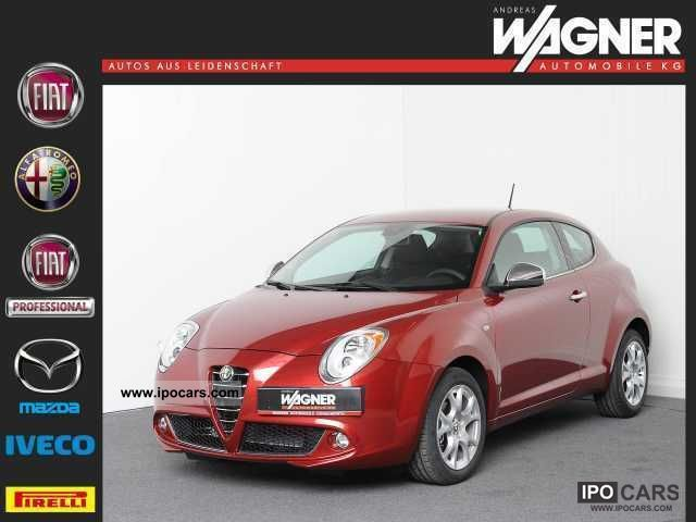 2011 Alfa Romeo  Mito 1.4 16V Turismo * Blue & Me, parking sensors, etc. Small Car Pre-Registration photo