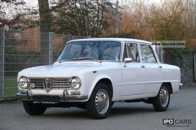 Alfa Romeo  Giulia 1300 TI 1966 Vintage, Classic and Old Cars photo