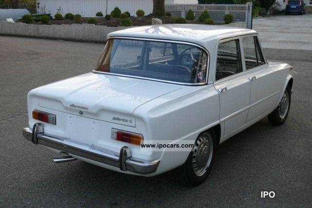 1966 alfa romeo giulia 1300 ti car photo and specs. Black Bedroom Furniture Sets. Home Design Ideas