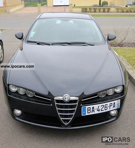 2006 alfa romeo 1 9 distinctive jtdm 159 berline 120 car photo and specs. Black Bedroom Furniture Sets. Home Design Ideas