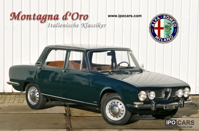 1969 Alfa Romeo  1750 Berlina Limousine Classic Vehicle photo