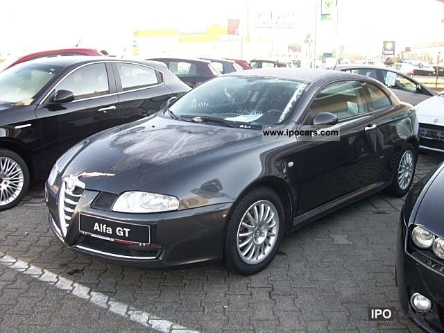 2006 alfa romeo gt 1 9 jtd progression 150 hp m automatic air conditioning car photo and specs. Black Bedroom Furniture Sets. Home Design Ideas