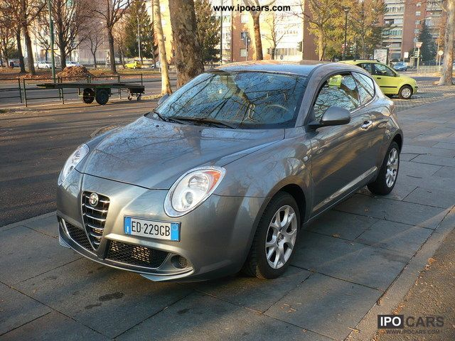 2010 alfa romeo mito 1 6 120 cv jtdm distinctive car. Black Bedroom Furniture Sets. Home Design Ideas