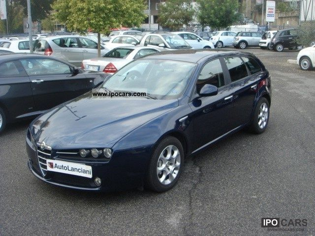 2008 Alfa Romeo  JTDm 159 1900-SW-150CV-FAP UNIPRO CD CERCHI-KM50 Estate Car Used vehicle photo