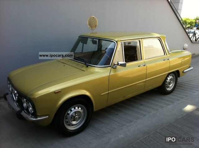 1976 Alfa Romeo  NUOVA GIULIA 1.3 CLASSIC WITH MARK H Limousine Classic Vehicle photo