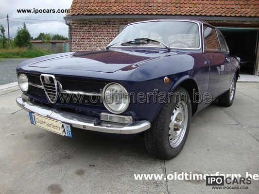 Alfa Romeo  Giulia coupe blue 1973 Vintage, Classic and Old Cars photo
