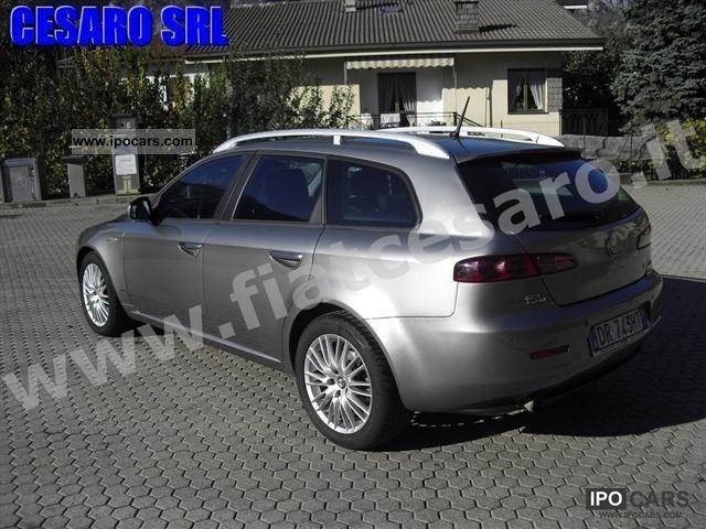 2008 alfa romeo 159 s w jtdm 1 9 16v 150 hp distinctive q dry car photo and specs. Black Bedroom Furniture Sets. Home Design Ideas