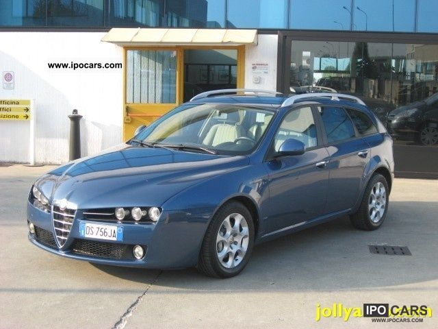 2008 Alfa Romeo  JTDm 159 1.9 150 CV Q Tronic SW Estate Car Used vehicle photo