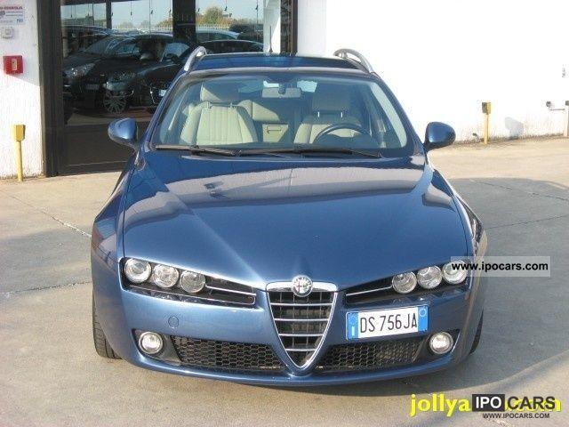 2008 alfa romeo jtdm 159 1 9 150 cv q tronic sw car. Black Bedroom Furniture Sets. Home Design Ideas