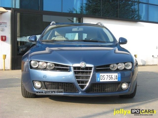 2008 alfa romeo jtdm 159 1 9 150 cv q tronic sw car photo and specs. Black Bedroom Furniture Sets. Home Design Ideas