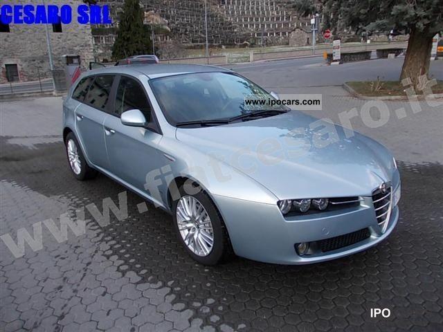 2008 alfa romeo 159 s w jtdm 1 9 16v 150 hp distinctive car photo and specs. Black Bedroom Furniture Sets. Home Design Ideas