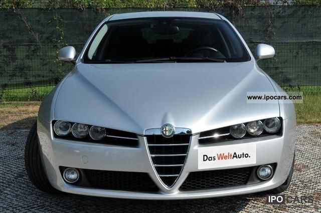 2008 alfa romeo 159 2 4 20v sw jtdm distinctive q tronic car photo and specs. Black Bedroom Furniture Sets. Home Design Ideas