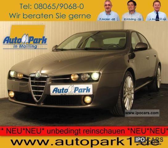 2006 Alfa Romeo  159 2.2 JTS 16V progressiveness climate, PDC, SHZ, BC Limousine Used vehicle photo