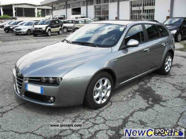 2009 alfa romeo 159 sw 2 0 jtdm progression car photo and specs. Black Bedroom Furniture Sets. Home Design Ideas