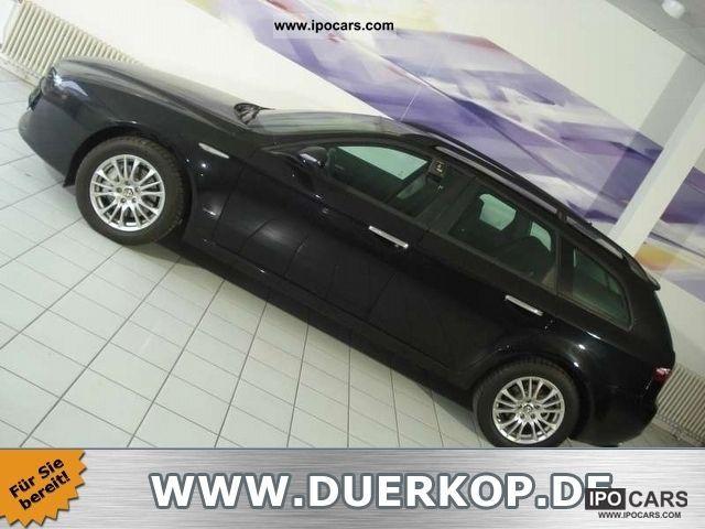 2008 Alfa Romeo  159 Sportwagon Elegant navigation Seat heating aluminum Estate Car Used vehicle photo