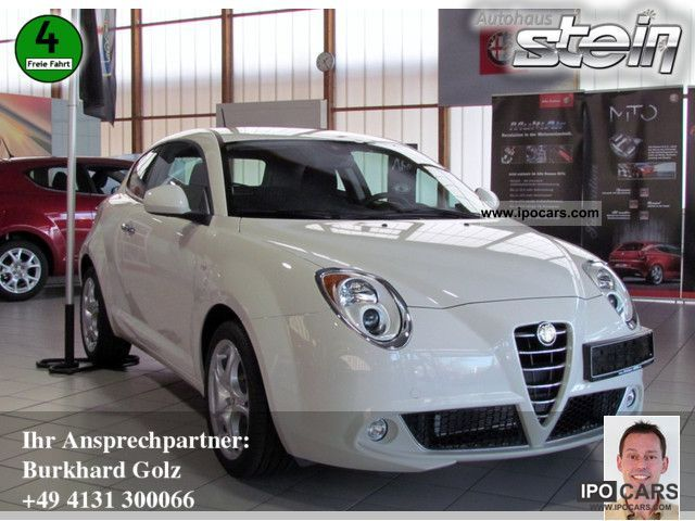 2011 Alfa Romeo  Mito 1.4 16V Turismo KLIMAAUTOMATIK Sports car/Coupe Demonstration Vehicle photo
