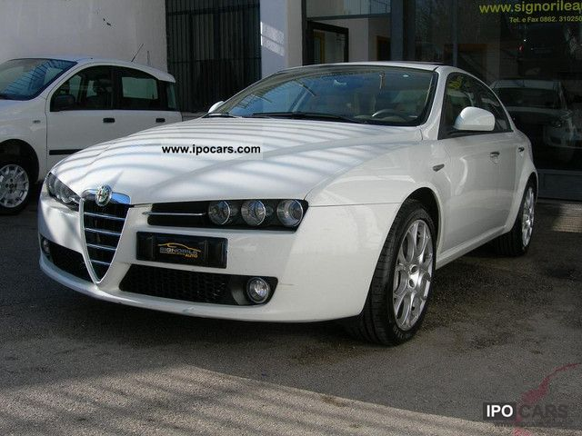2008 alfa romeo 159 2 4 jtdm 200cv q tronic cambio f1 tetto elet car photo and specs. Black Bedroom Furniture Sets. Home Design Ideas