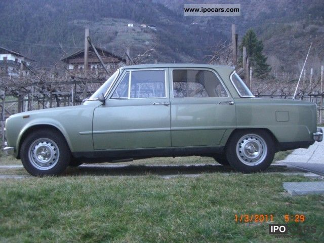 Alfa Romeo  Giulia 1300S orig./2Vorbes/ungeschweißt/1.Lack 1973 Vintage, Classic and Old Cars photo