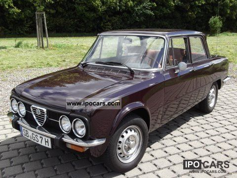 Alfa Romeo  Giulia 1976 Vintage, Classic and Old Cars photo