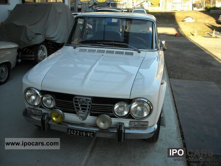 Alfa Romeo  Giulia Super 1973 Vintage, Classic and Old Cars photo