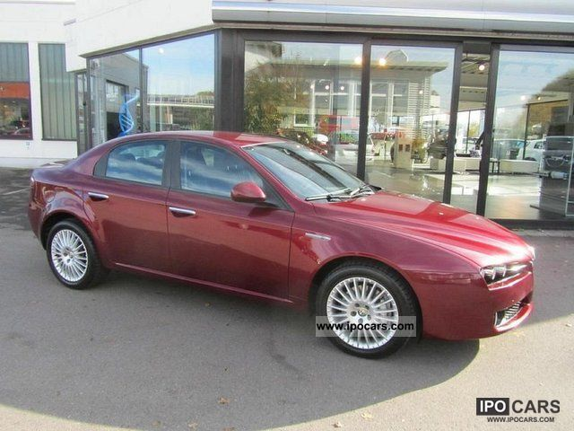 2006 alfa romeo 159 2 4 jtdm 20v distinctive car photo and specs. Black Bedroom Furniture Sets. Home Design Ideas
