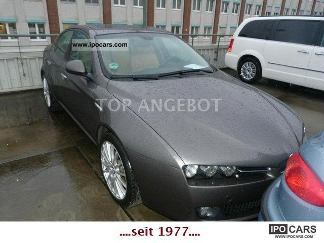 2007 Alfa Romeo  159 2.2 JTS 16V Dist. / EGSD / LEATHER / 18 \ Limousine Used vehicle photo