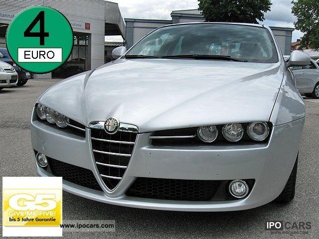 2009 Alfa Romeo  159 2.0 JTDM 16V DPF 5J. Klimaaut warranty., ZV Estate Car Used vehicle photo
