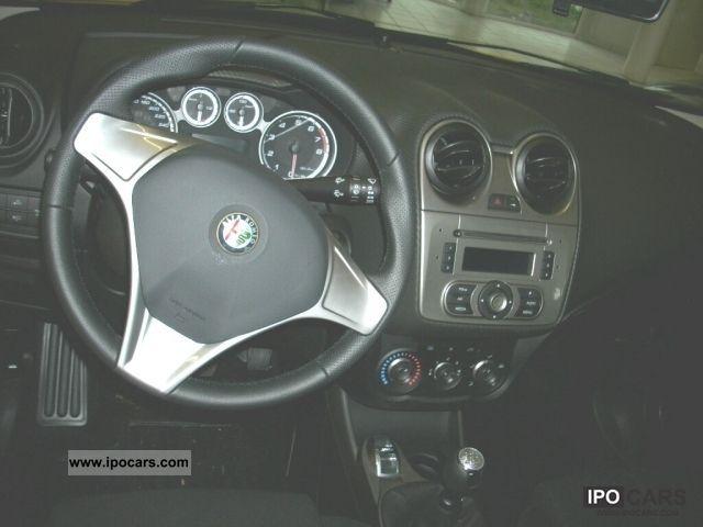 Alfa Romeo Mito Wing Mirror Glass