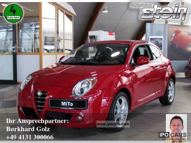 2012 Alfa Romeo  Mito 1.4 16V Turismo KLIMAAUTOMATIK Sports car/Coupe Pre-Registration photo