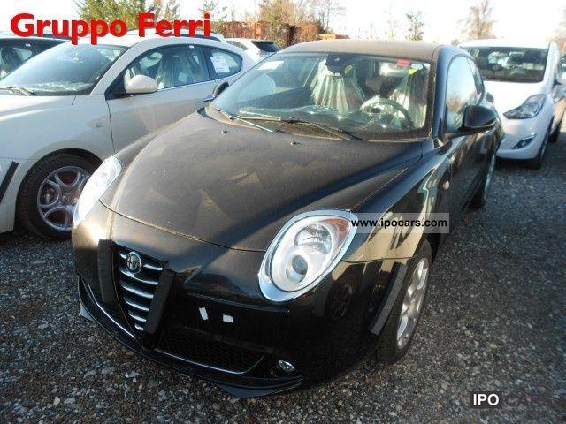 2011 Alfa Romeo  MiTo 1.4 105cv M.air S & S Dist Nero Met Limousine New vehicle photo