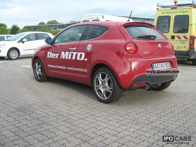 2010 alfa romeo mito 1 4 tb turismo multiair 135 hp car photo and specs. Black Bedroom Furniture Sets. Home Design Ideas