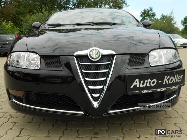 2007 alfa romeo gt 2 0 jts distinctive car photo and specs. Black Bedroom Furniture Sets. Home Design Ideas