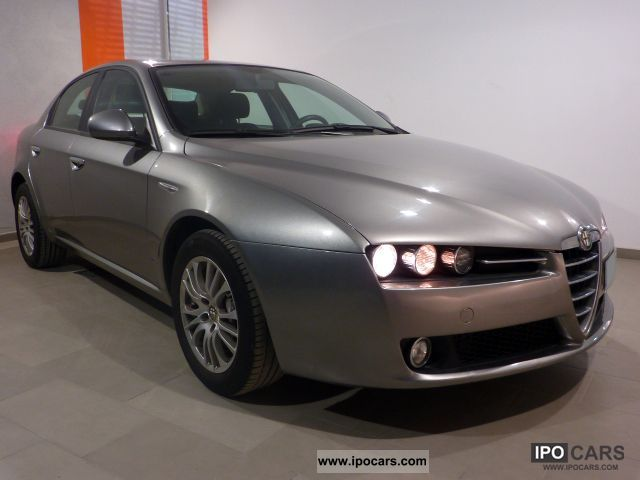 2008 alfa romeo 159 1 9 jtd 150 distinctive car photo and specs. Black Bedroom Furniture Sets. Home Design Ideas