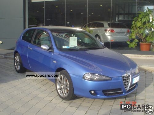 2007 Alfa Romeo  147 1.9 JTD (120) 3 porte Blackline, 2007 Limousine Used vehicle photo