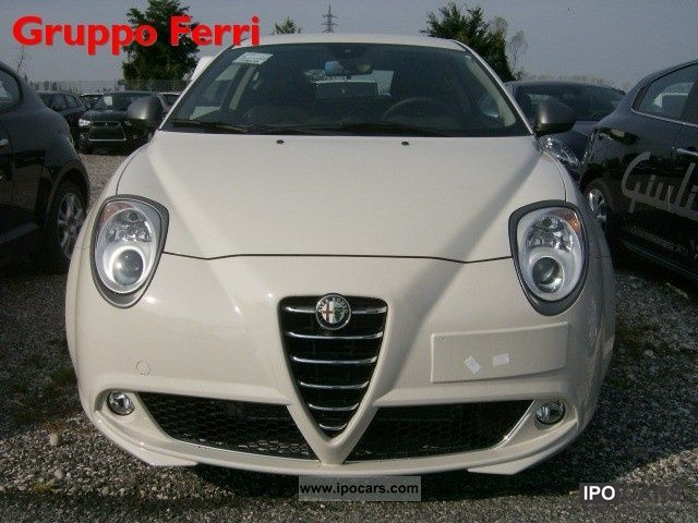 Alfa Romeo  MiTo 1.4 TB 120CV GPL Super Pack - P.CONSEGNA 2011 Liquefied Petroleum Gas Cars (LPG, GPL, propane) photo