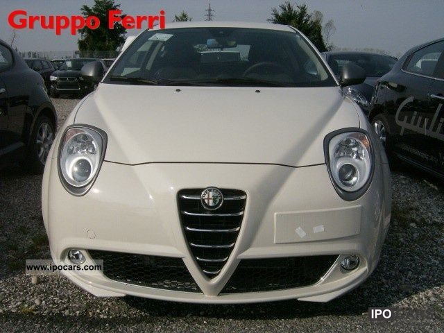 2011 Alfa Romeo  MiTo 1.3 JTDm-2 S & S Super Bianco Limousine New vehicle photo