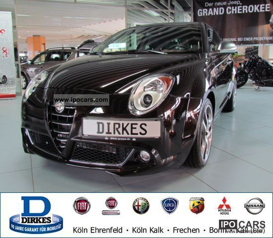 2011 Alfa Romeo  Mito 1.4 16V PDC KLIMAAUTOMATIK Sports car/Coupe Used vehicle photo