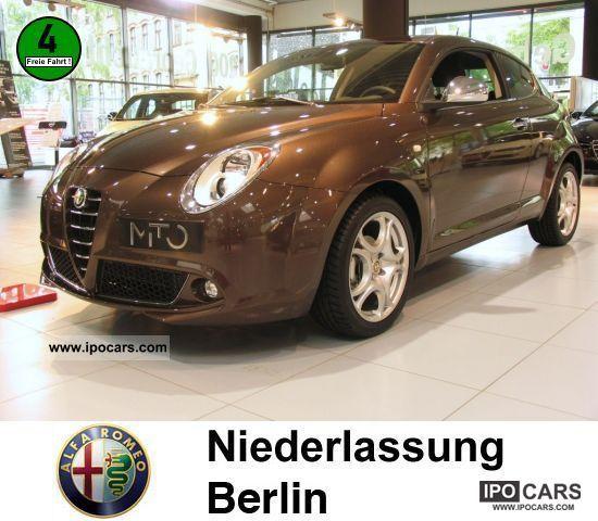 2011 Alfa Romeo  Mito 1.4 16V MultiAir Super AIR Sports car/Coupe Demonstration Vehicle photo