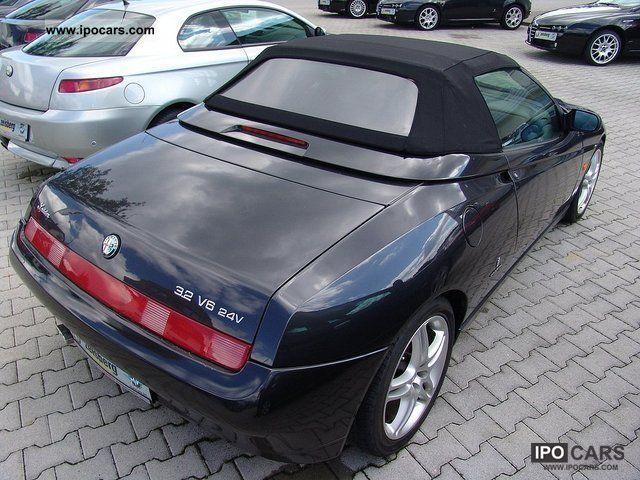 2004 Alfa Romeo Spider 3.2 V6 24V Lusso * Inz / exchange possible ...