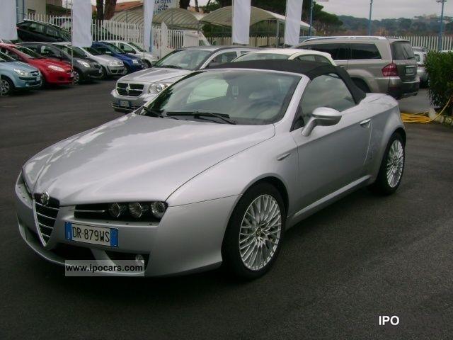 2008 Alfa Romeo  Spider 2.4 JTDm (210) Cabrio / roadster Used vehicle photo