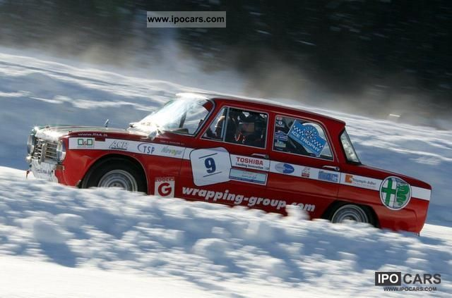 Alfa Romeo  Super 1600 - FIA World Rally car 1966 Race Cars photo
