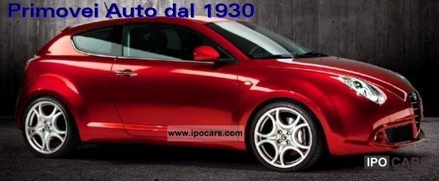 2011 Alfa Romeo  MiTo 1.3 JTDm Distinctive Premium Pack Limousine New vehicle photo
