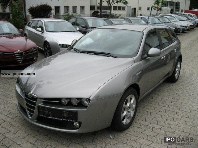 2009 alfa romeo 16v 159 sportwagon 2 0 jtdm car photo and specs. Black Bedroom Furniture Sets. Home Design Ideas