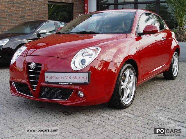 2011 Alfa Romeo  MiTo 1.6 JTDM Turismo 120PS 2011 * Start & Stop * Limousine Employee's Car photo