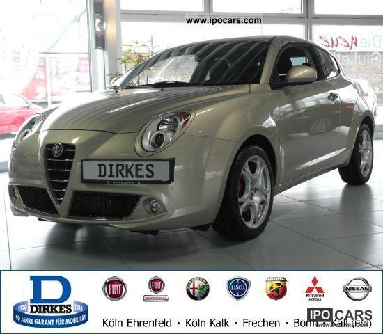 2011 Alfa Romeo  Mito 1.4 16V Turismo PDC KLIMAAUTOMATIK Sports car/Coupe Used vehicle photo