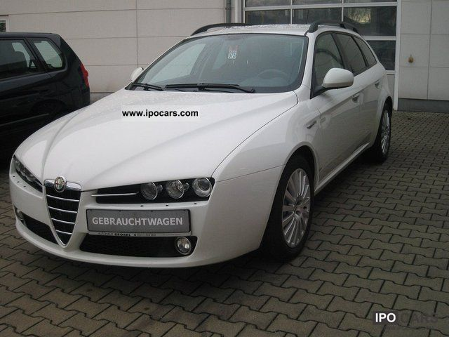 2008 Alfa Romeo  159 Sportwagon 1.9 JTDM 16V air conditioning Estate Car Used vehicle photo
