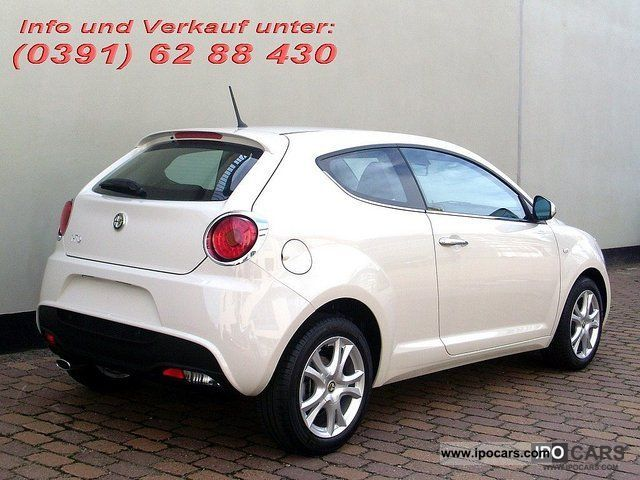 2011 alfa romeo mito 1 4 16v 77kw multiair car photo and specs. Black Bedroom Furniture Sets. Home Design Ideas
