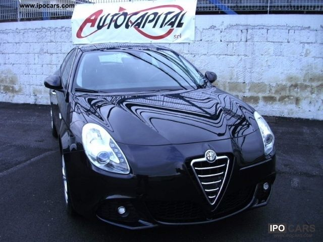 2011 Alfa Romeo  Giulietta 6.1 JTDm Distinctive CV-2105 [12] Limousine Used vehicle photo