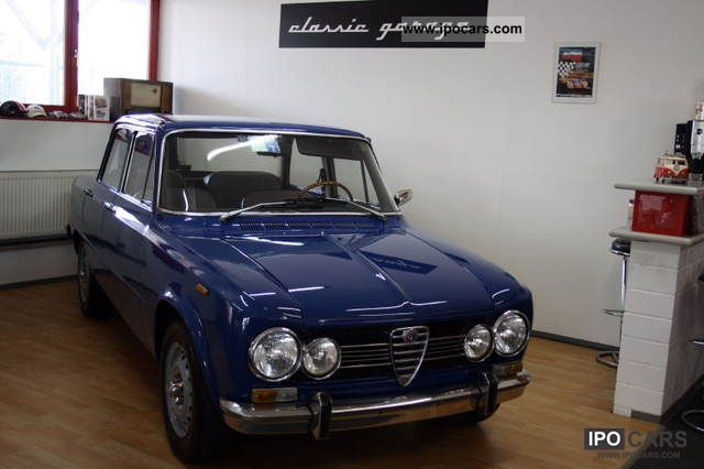 Alfa Romeo  Giulia Super 3.1 Bleu Francia .. One of the best? 1972 Vintage, Classic and Old Cars photo